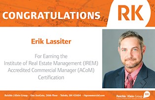 Erik Lassiter Received IREM